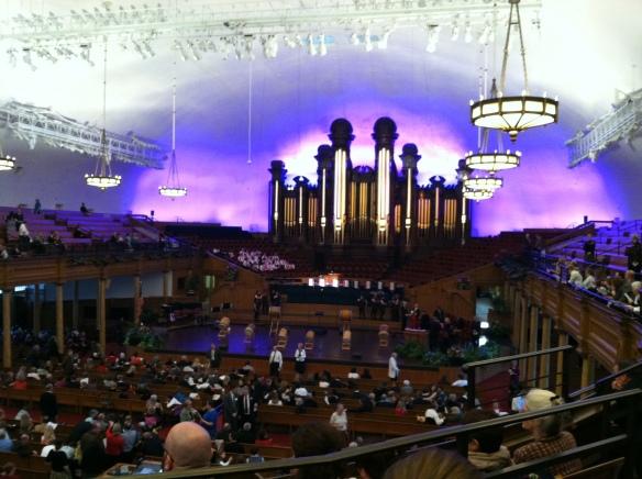 Salt Lake Tabernacle on Temple Square