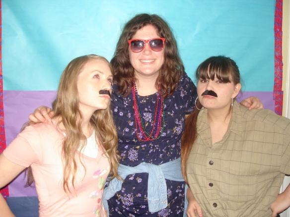 More mustache fun.
