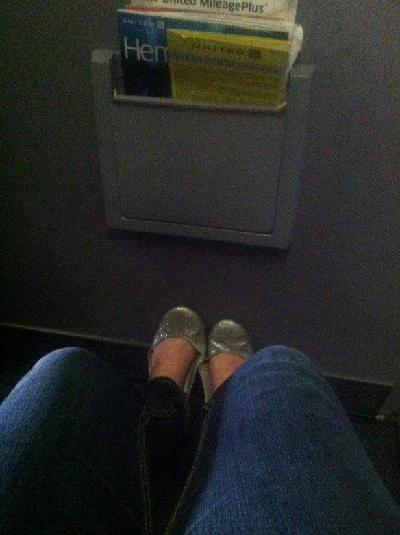 Soooo much leg room.
