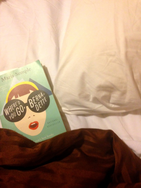 My vacation read: Where'd You Go Bernadette